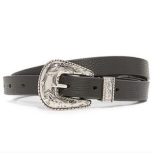 B-Low the Belt Baby Frank Black Silver Small
